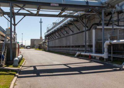 Boat Harbor Wastewater Treatment Center, Hampton Roads VA Sanitation District (145' Monopole)