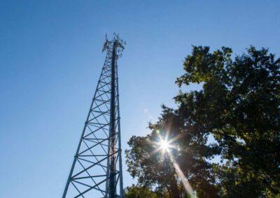 Bennett High School, Wicomico County Public Schools (195′ Lattice Tower)