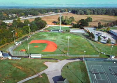 Berea High School, Greenville County Schools (125′ Light Pole Replacement)