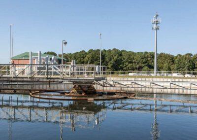 Chesapeake-Elizabeth Water Treatment Plant, Hampton Roads Sanitation District (115′ Monopole)