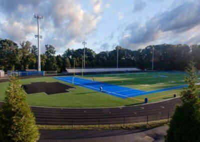 Fairfax High School, Fairfax County Public Schools (120′ Light Pole Replacement)
