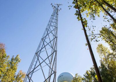 Mountain View Tank, Stafford County (160′ Lattice Tower)
